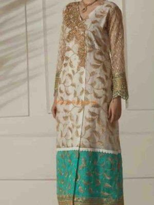 ZAINAB CHOTTANI Luxury Embroidered Latest Net Collection Replica