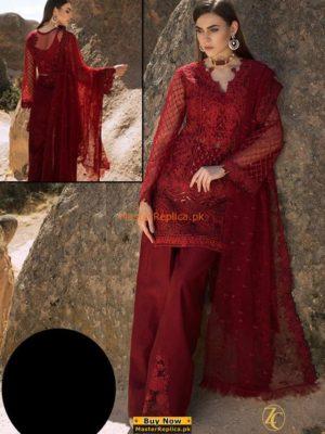 ZAINAB CHOTTANI Luxury Embroidered Latest Chiffon Collection Replica