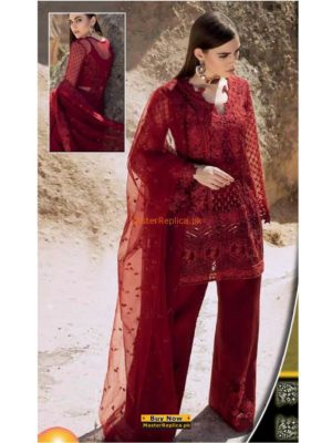 ZAINAB CHOTTANI LUXURY EMBROIDERED CHIFFON COLLECTION 2018 REPLICA