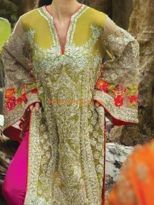 ZUNUJ LUXURY EMBROIERED CHIFFON COLLECTION 2018 REPLICA