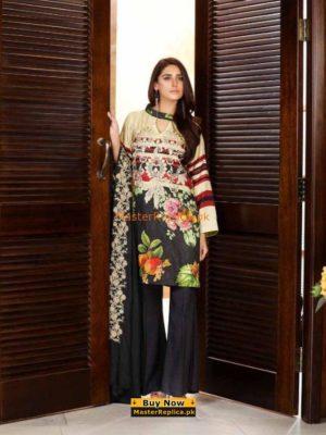 CHARIZMA Latest Embroidered Winter Linen Collection Replica 2018