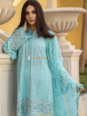 MARIA B Luxury D-1811-A Embroidered Lawn Collection Replica