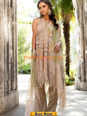 Sobia Nazir Luxury 6B Falak Embroidered Net Collection Replica