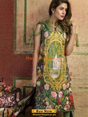 ASIFA & NABEEL LUXURY DIGITAL PRINTING LAWN COLLECTION 2018 REPLICA