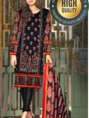 ASIM JOFA LUXURY EMBROIDERED COTTON COLLECTION 2018 MASTER REPLICA