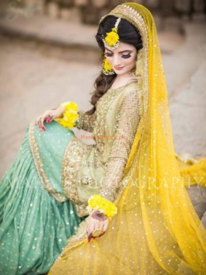 ATIF NIAZ LUXURY EMBROIDERED NET BRIDAL COLLECTION 2018 REPLICA
