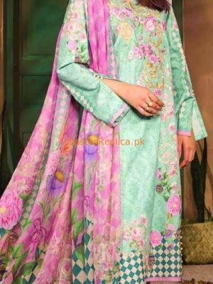 BEECH TREE LUXURY EMBROIDERED LINEN WINTER COLLECTION 2018 MASTER REPLICA