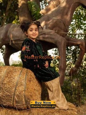 CHARIZMA LUXURY EMBROIDERED VELVET KIDS COLLECTION 2018 REPLICA