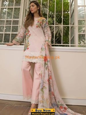 FIRDOUS LUXURY EMBROIDERED COTTON COLLECTION 2018 MASTER REPLICA
