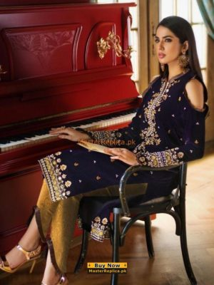 GUL AHMED LUXURY EMBROIDERED MAYSURI COLLECTION 2018 REPLICA