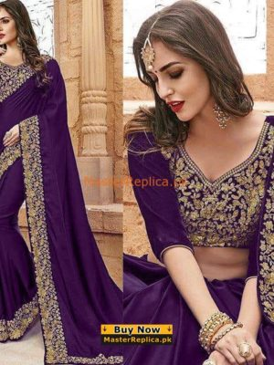 INDIAN LUXURY EMBROIDERED CHIFFON SAREE COLLECTION 2018 MASTER REPLICA INDIAN LUXURY EMBROIDERED CHIFFON SAREE COLLECTION 2018 MASTER REPLICA