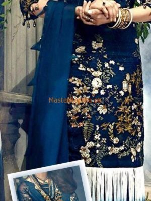ITTEHAD LUXURY EMBROIDERED CHIFFON COLLECTION 2019 REPLICA