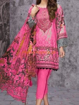 KHAADI LUXURY EMBROIDERED COTTON COLLECTION 2018 REPLICA