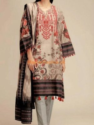 KHAADI LUXURY EMBROIDERED KHADDAR WINTER COLLECTION 2018 REPLICA