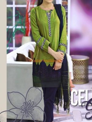 MARIA B LATEST EMBROIDERED COTTON COLLECTION 2018 MASTER REPLICA