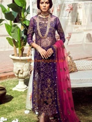 NOOR BY SADIA ASAD LUXURY EMBROIDERED COTTON COLLECTION 2018 REPLICA