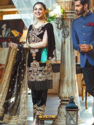 RANG RASIYA Luxury Chatoyer D-03 Embroidered Chiffon Collection Replica