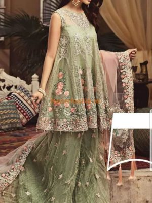 SERENE LUXURY EMBROIDERED NET BRIDAL COLLECTION 2018 REPLICA
