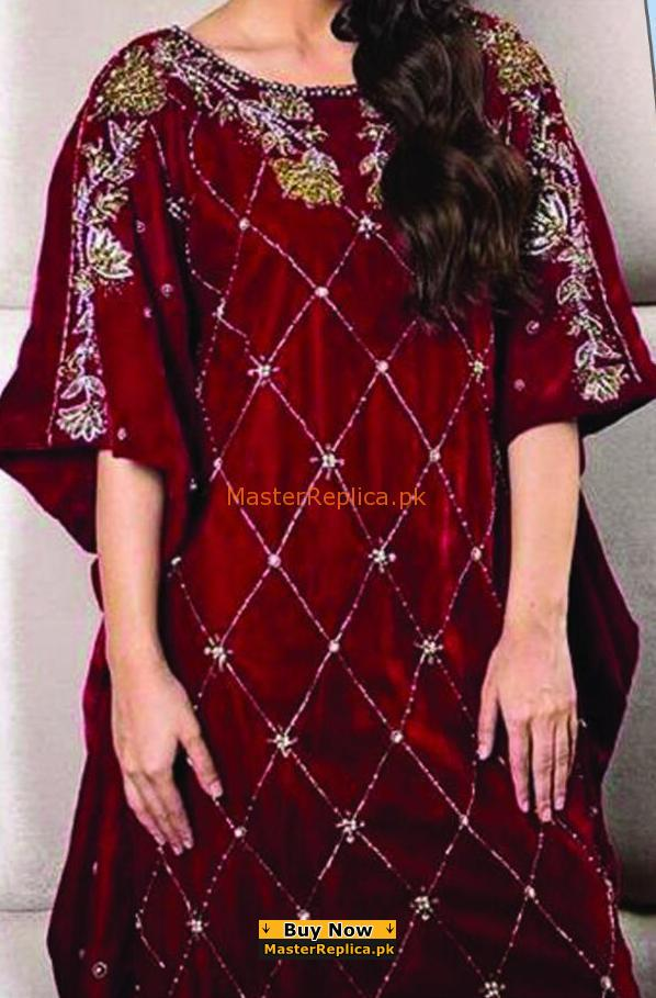 LUXURY EMBROIDERED LAWN KURTI COLLECTION 2018