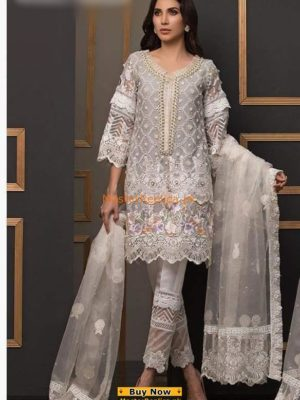 ANUS ABRAR Luxury Embroidered Net Bridal Wear Collection Replica