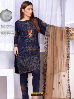 BAROQUE Luxury Embroidered Cotton Lawn Collection Replica