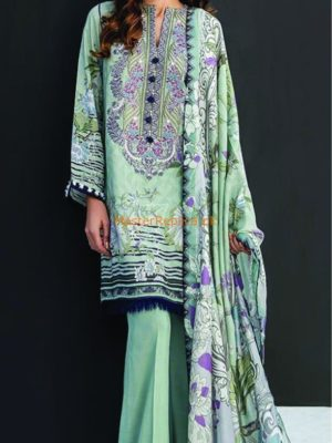 BAROQUE Luxury Embroidered Winter Cambric Collection Replica