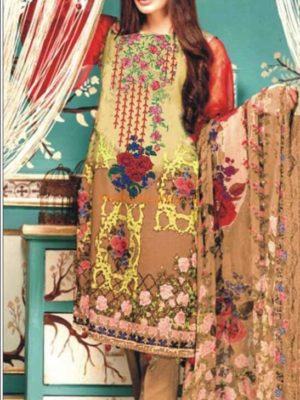 CHARIZMA Latest Embroidered Winter Linen Collection Replica