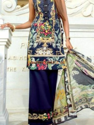 FIRDOUS Luxury Embroidered Winter Cotton Collection Replica 2019