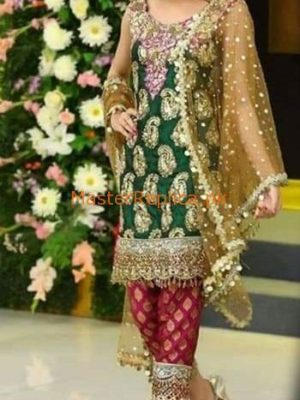 KASHEE'S Luxury Embroidered Bridal Wear Chiffon Collection Replica 2019