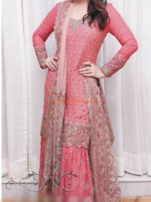 MANISH MALHOTRA Luxury Embroidered Bridal Wear Chiffon Collection Replica