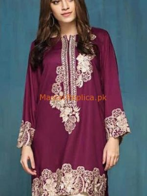 MAUSAMMERY Luxury Embroidered Winter Cotton Collection Replica