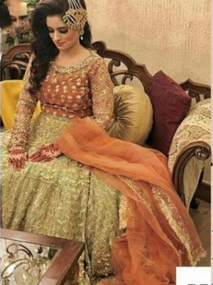 REPUBLIC Luxury Embroidered Bridal Wear Maysuri Collection Replica