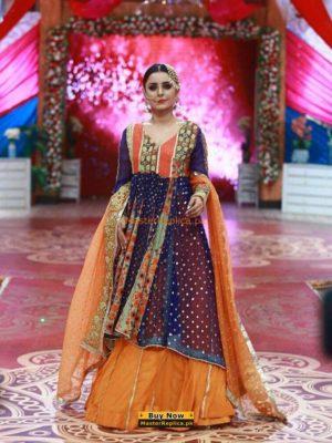 ZAINAB CHOTANI Luxury Embroidered Bridal Wear Chiffon Collection Replica
