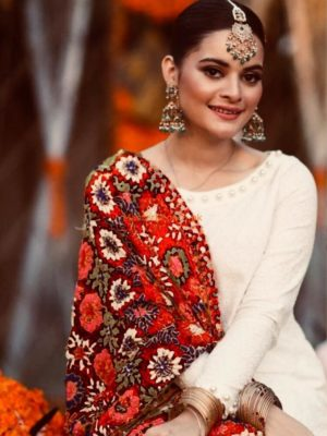 KASHEE'S Luxury Embroidered Chiffon Bridal Wear Collection Replica 2019
