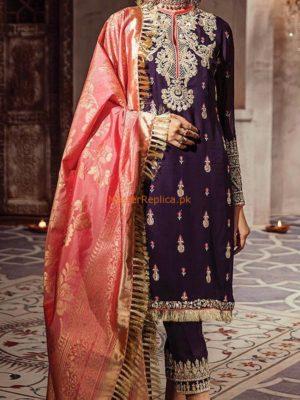 Anaya Chandbagh Chiffon Master Replica 2019