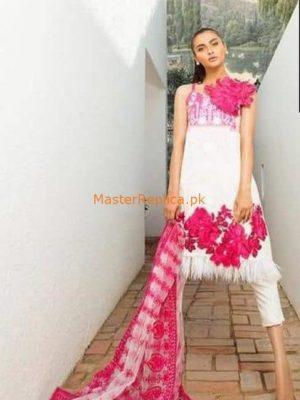 Sana Safinaz Lawn And Net Master Replica 2019