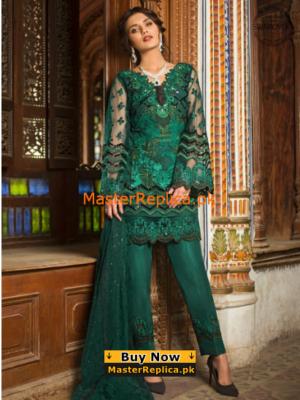 ZAINAB CHOTTANI Emerald Sparkle Net Master Replica 2019