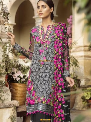 Mina Hassan Embroidered Chiffon Master Replica 2019