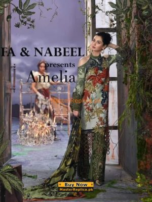 Modish ASIFA AND NABEEL Lawn