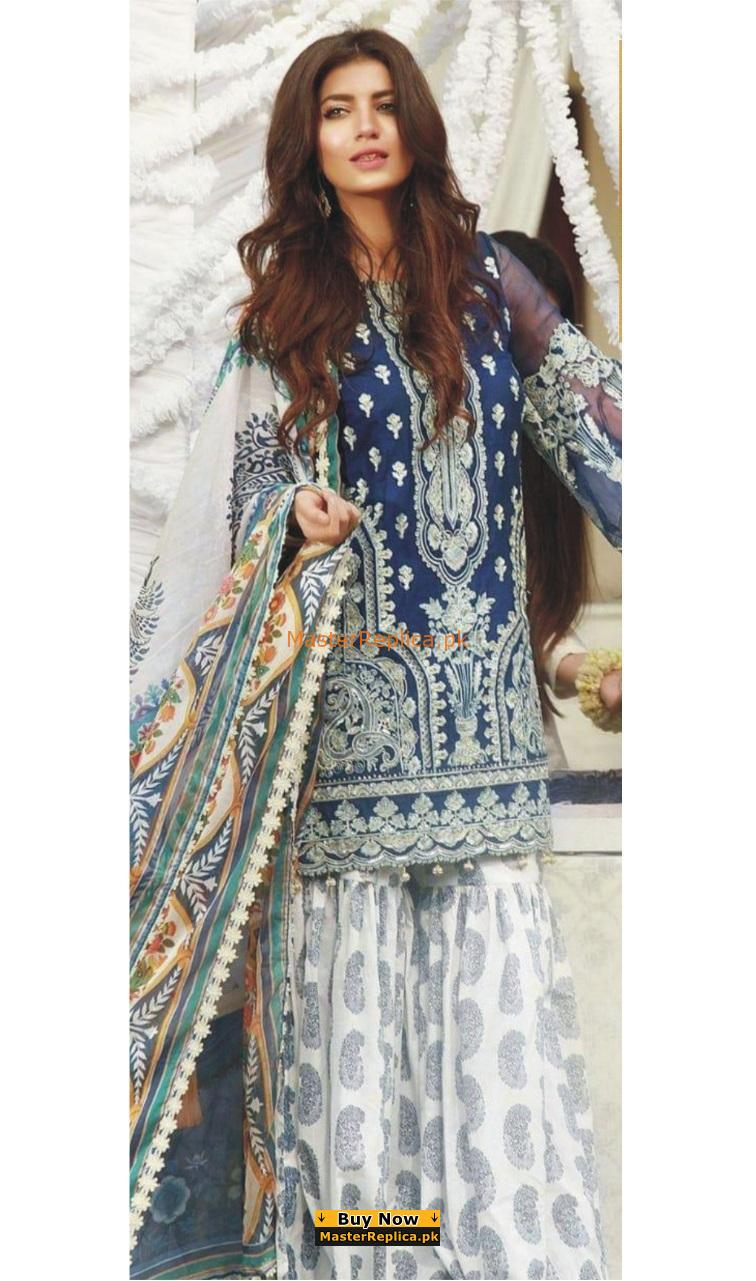 Pakistani Chiffon Dress