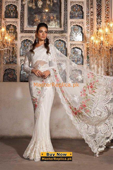 MARIA B Net Saree Master Copy