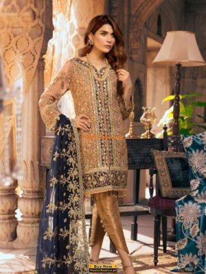 MARYAM AND MARIA Chiffon Party Wear