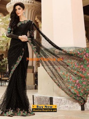 Amazing Maria B Saree Net Master Copy 2019