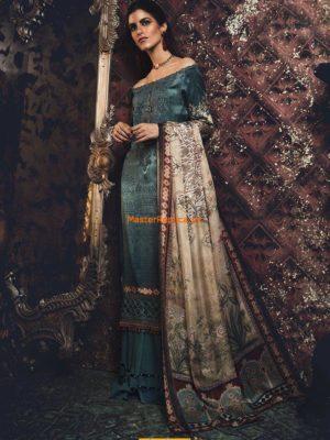 MARIA B Silk Suit