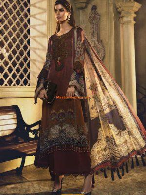 MARIA B Silk Dress