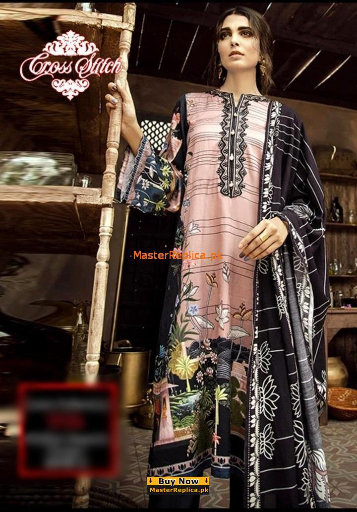 Anna Laghari Maria B Elan Suit Collection 2018 Embroidery Latest Shalwar Kameez